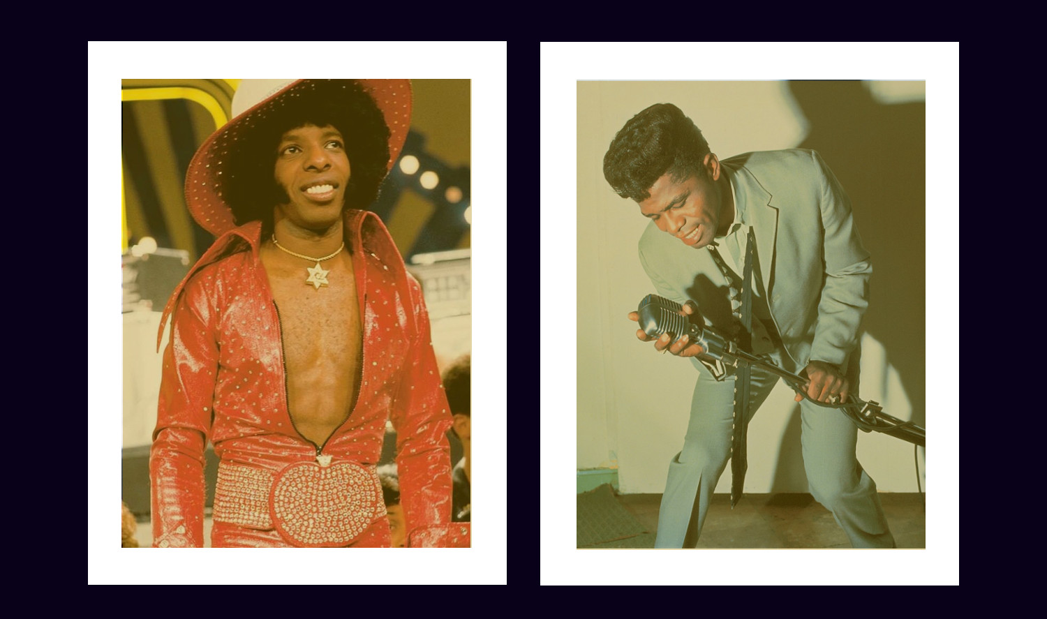 James Brown + Sly Stone