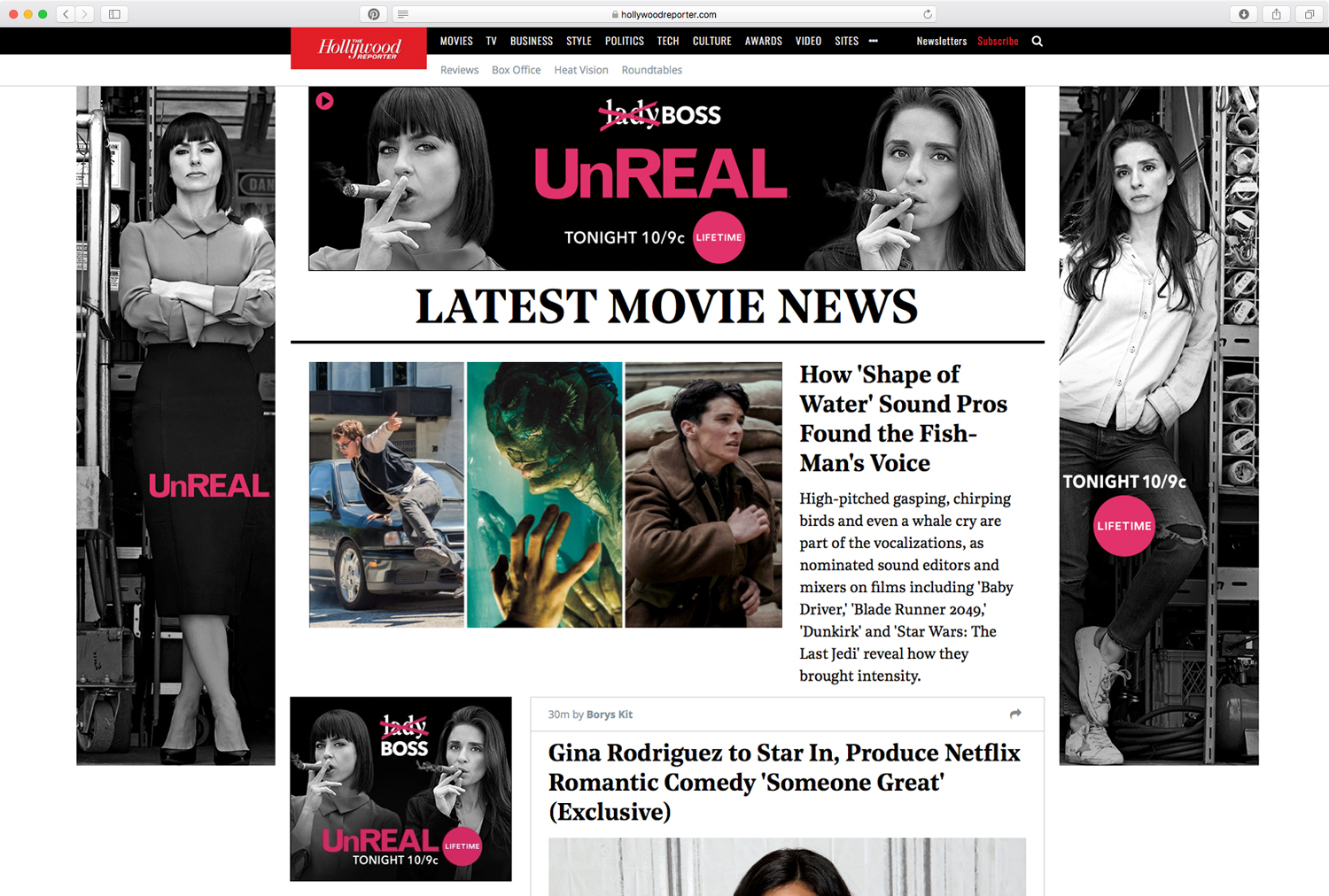 The Hollywood Reporter - Takeover