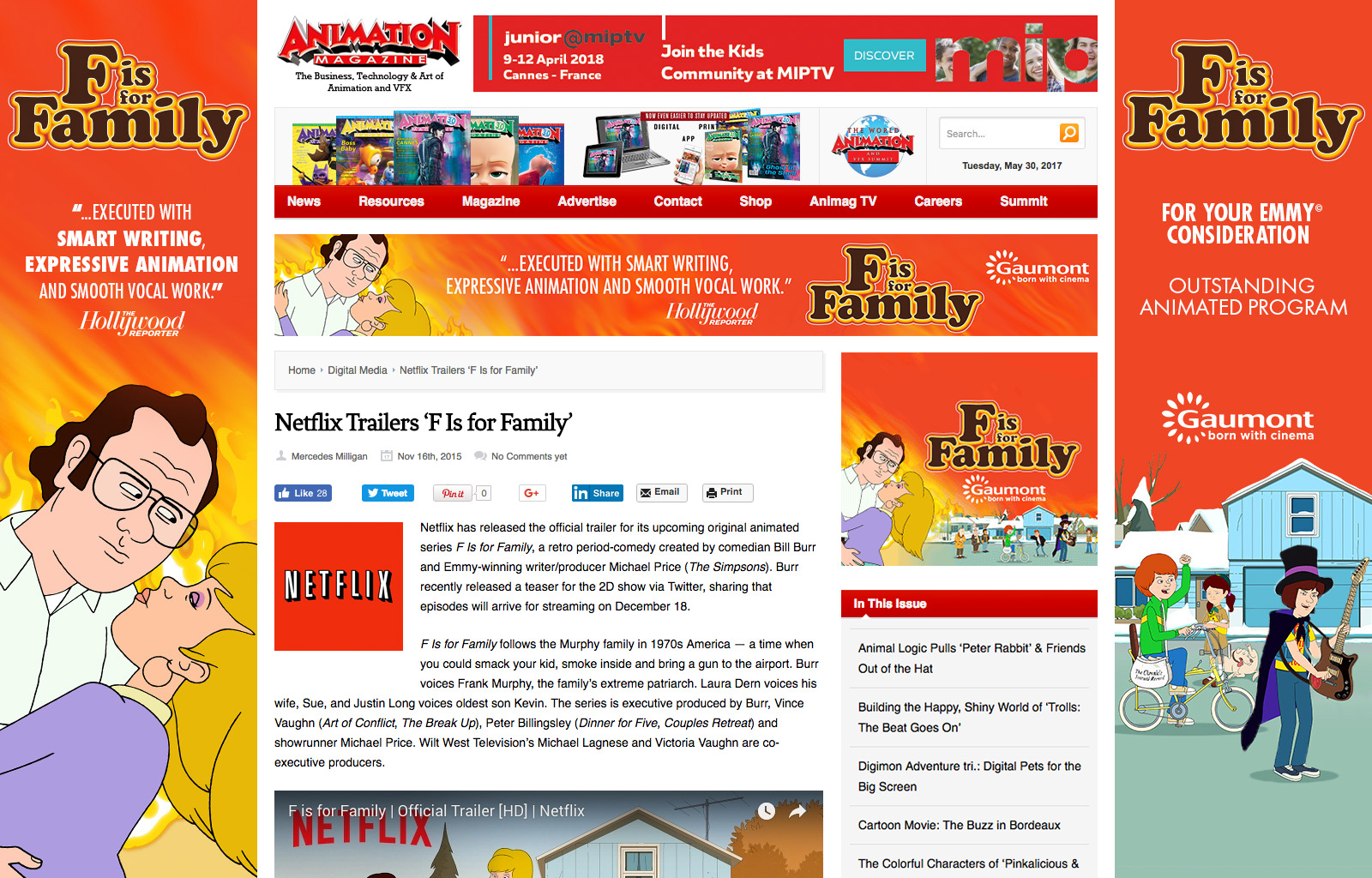 Animation Magazine - Takeover