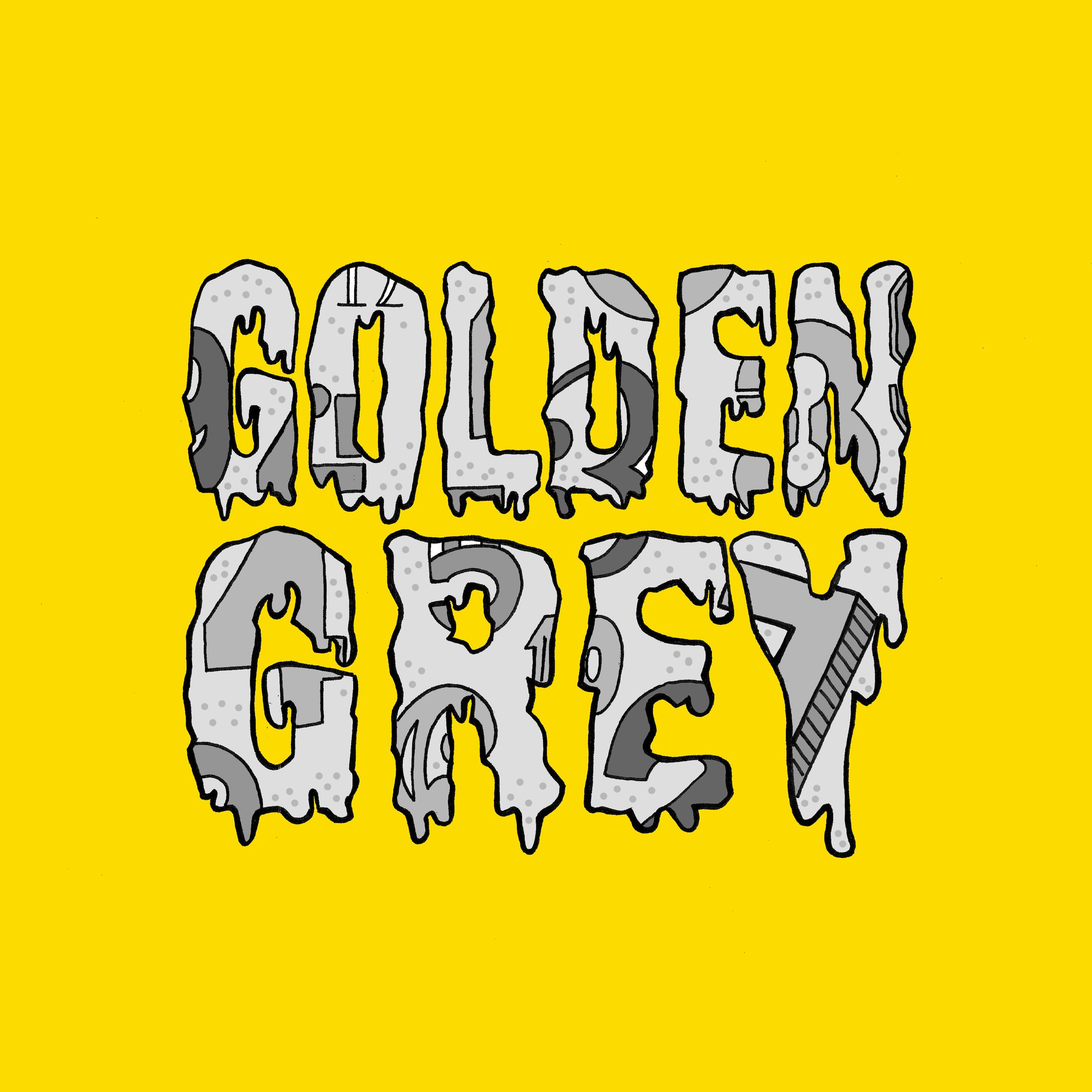 Golden Grey - Numbers - BIBLIOTEKA027 - EP