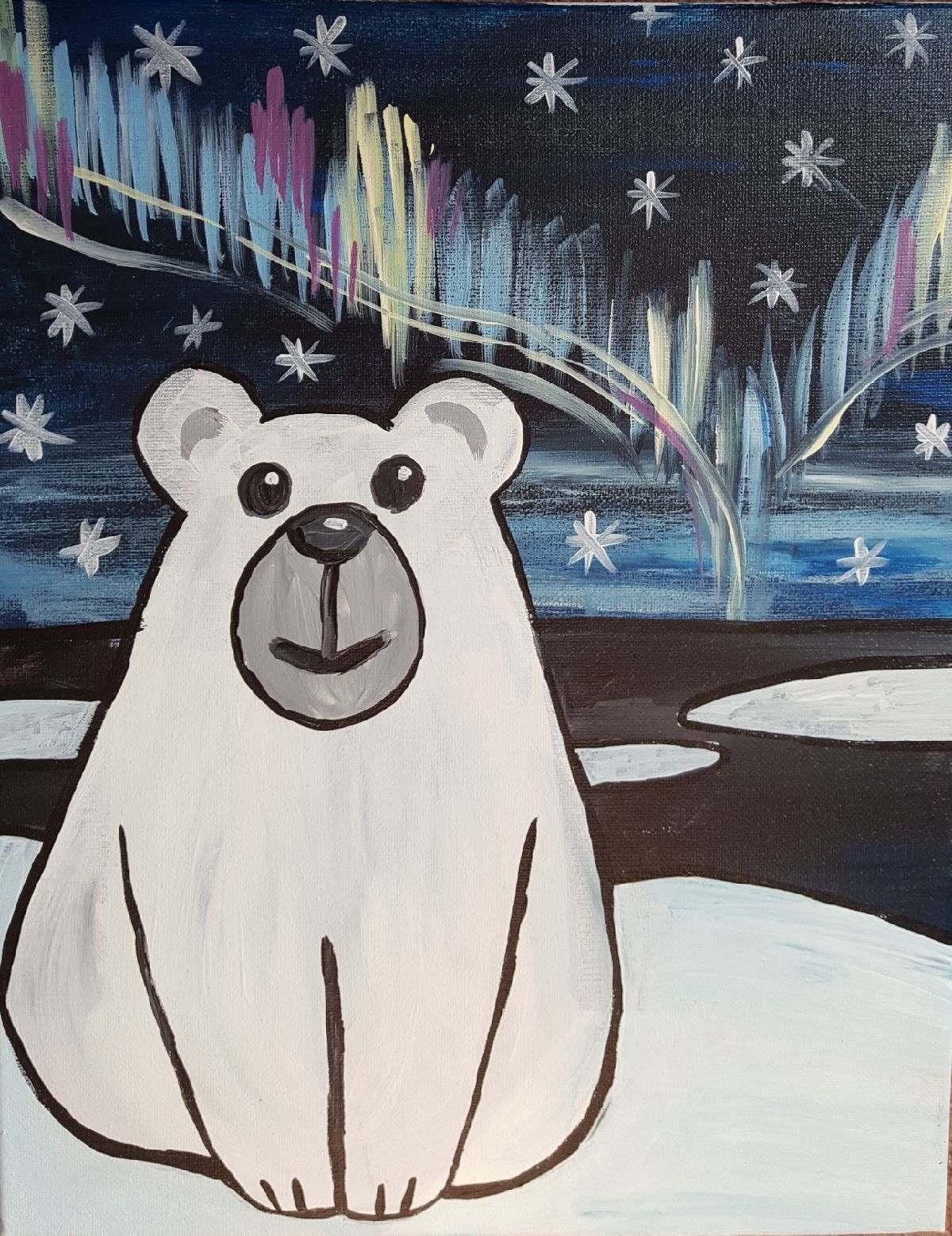Polar Bear Painting -