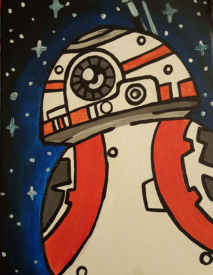 Droid Painting -