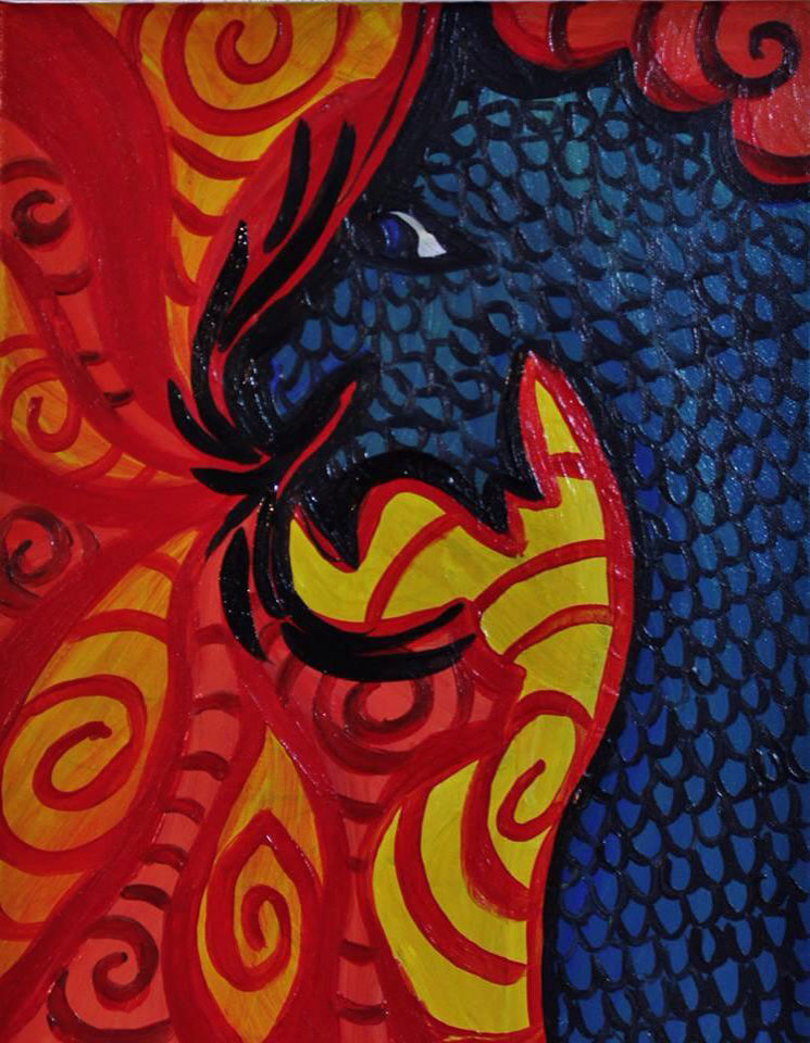 Dragon Painting -