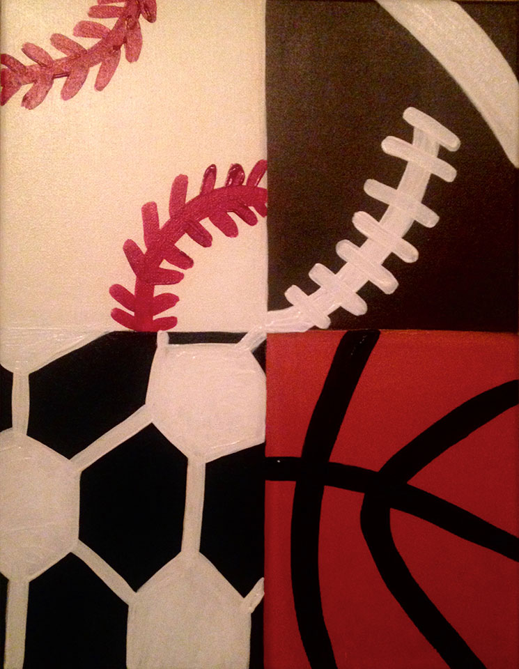 Sports Ball Painting  -