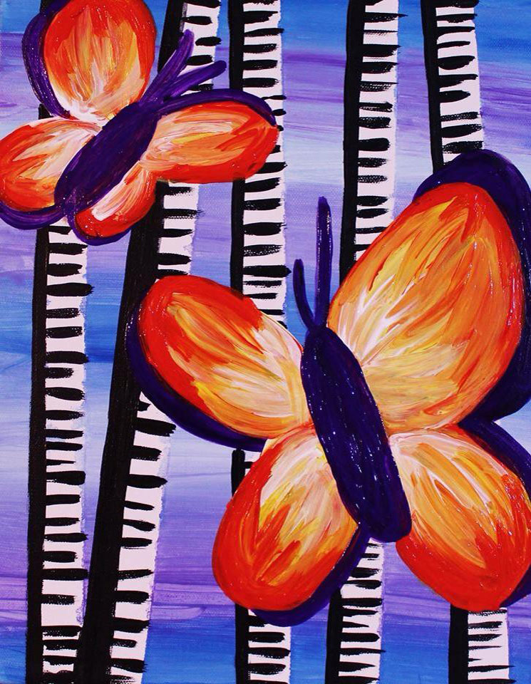 Butterfly Painting -