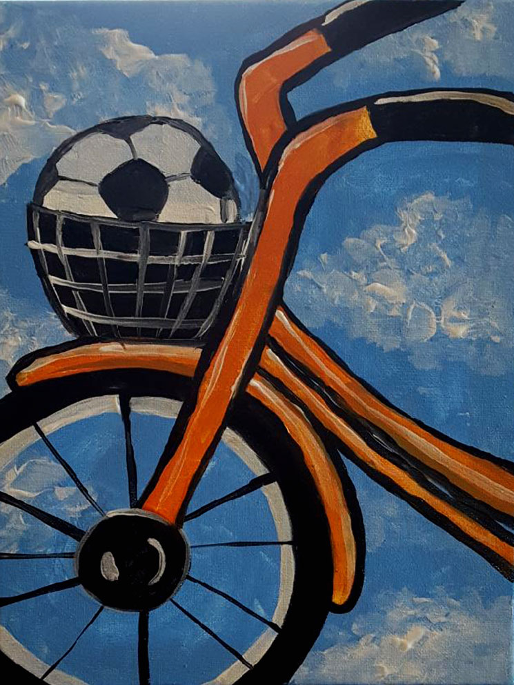 Bicycle Painting  -