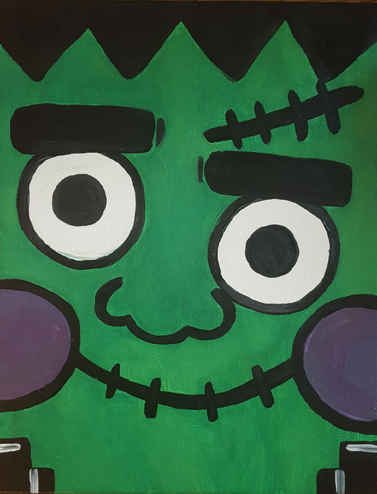 Frankenstein Painting - Open Play Starts at 10:00am with the Painting at 11:00am