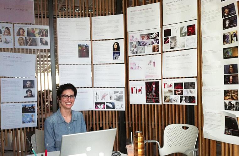 Being creative, as creatives do,in our nook – the birdcage. - Ogilvy & Mather Singapore