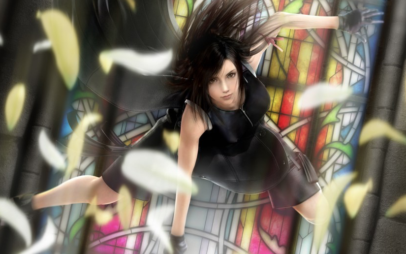 I'm not an ultra nerd on Final Fantasy VII, but I love Tetsuya Nomura's art.