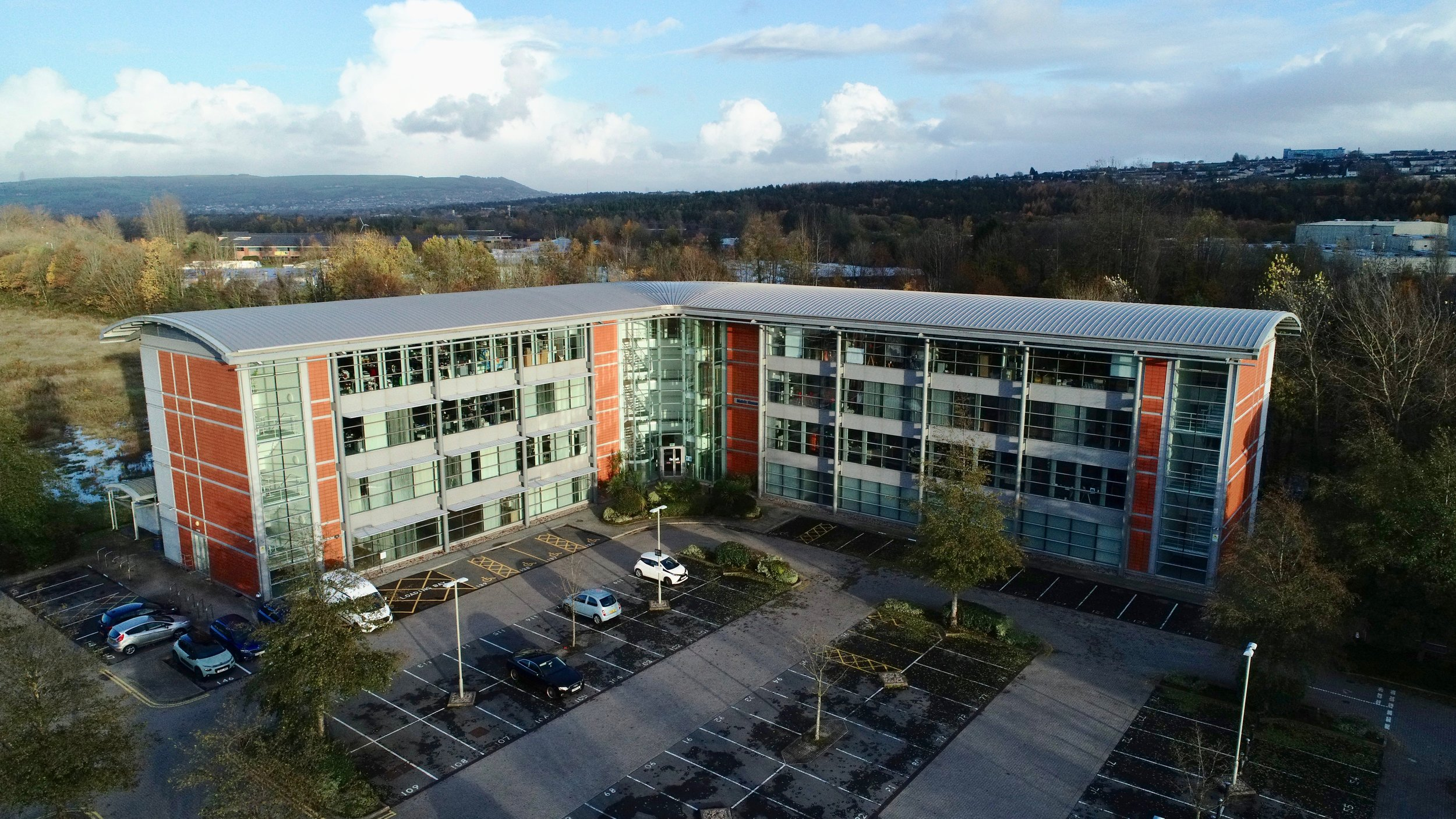Matrix House - Take a look at one of the most modern office buildings in Swansea Enterprise Park which is now Let to the NHS.