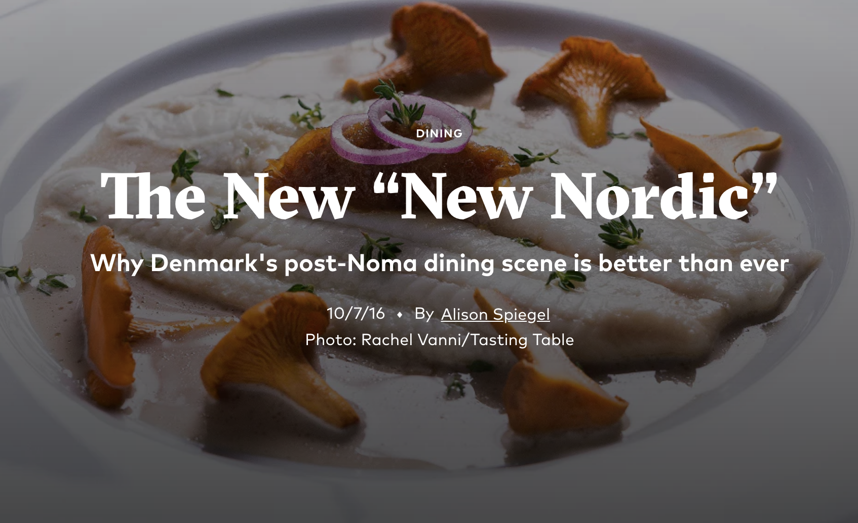 """The New """"New Nordic"""""""