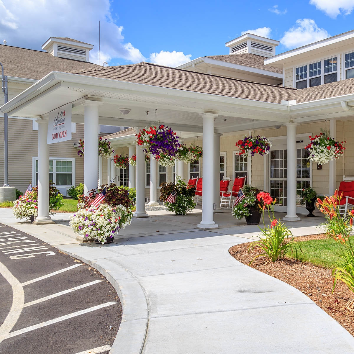 All American Assisted Living  Warwick, Rhode Island 30,000 sqft Assisted Living Facility Contractor: Superior Drywall, Inc.