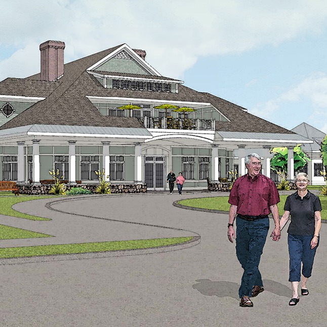 Fairing Way at Southfield  South Weymouth, Massachusetts 53,000 sqft Assisted Living Facility Contractor: Dellbrook Construction