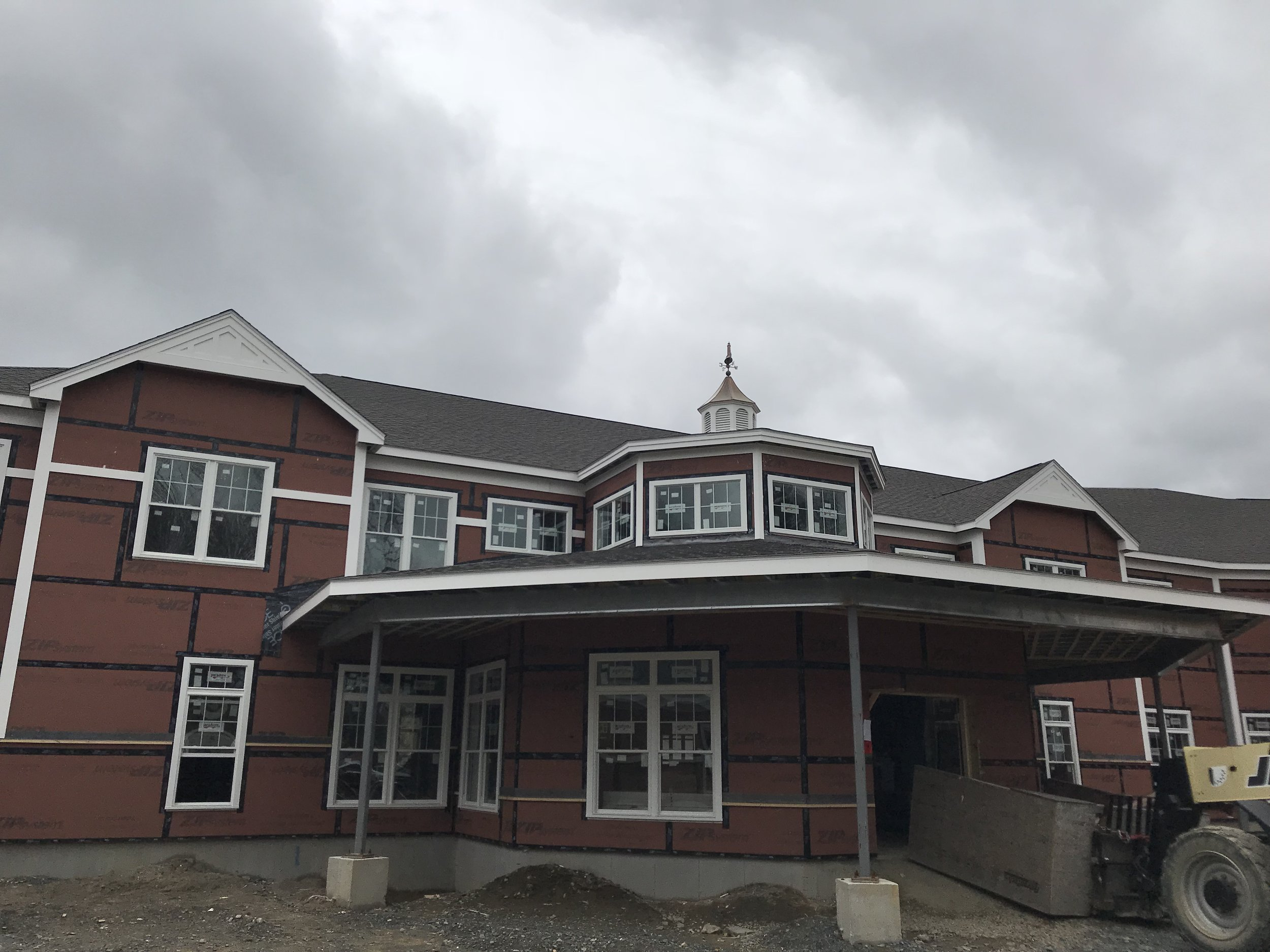 Cornerstone in Hampton  Hampton, NH CFS Trusses & Load Bearing Wall Panels Contractor: Merrimack Drywall