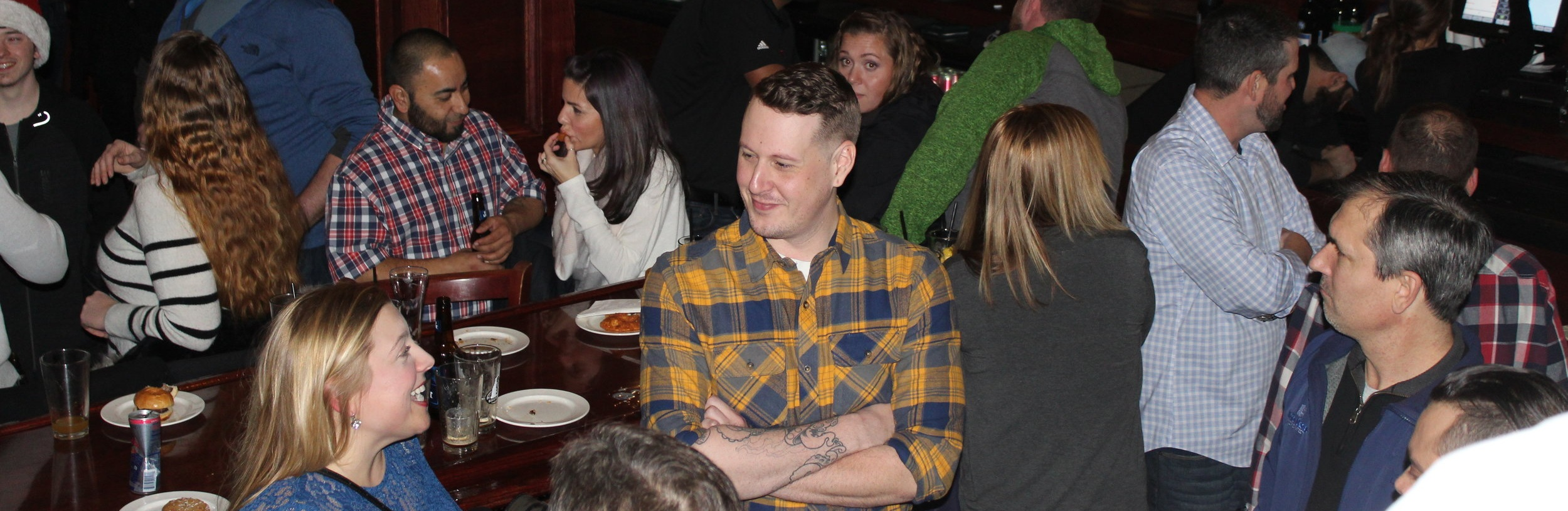 Atlantic Prefab celebrates the holidays as a team at Murphy's Taproom.