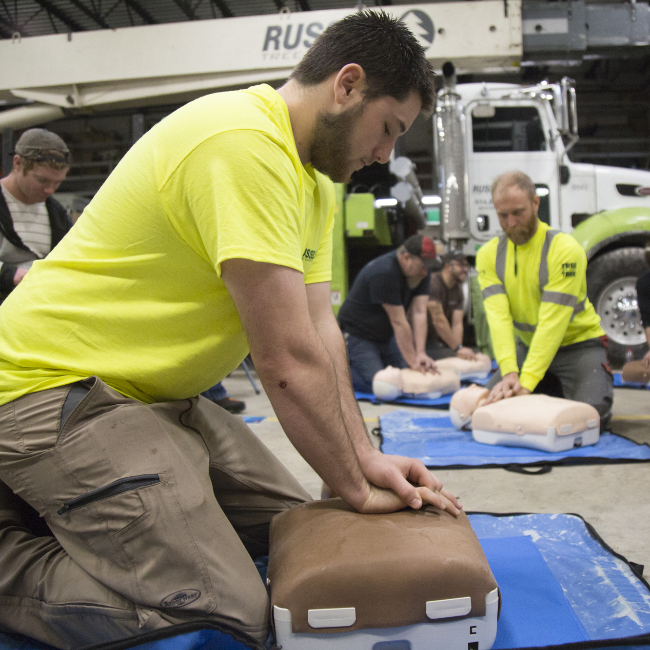 First Aid & CPR - Crew is First-Aid and CPR trained through the American Heart Association