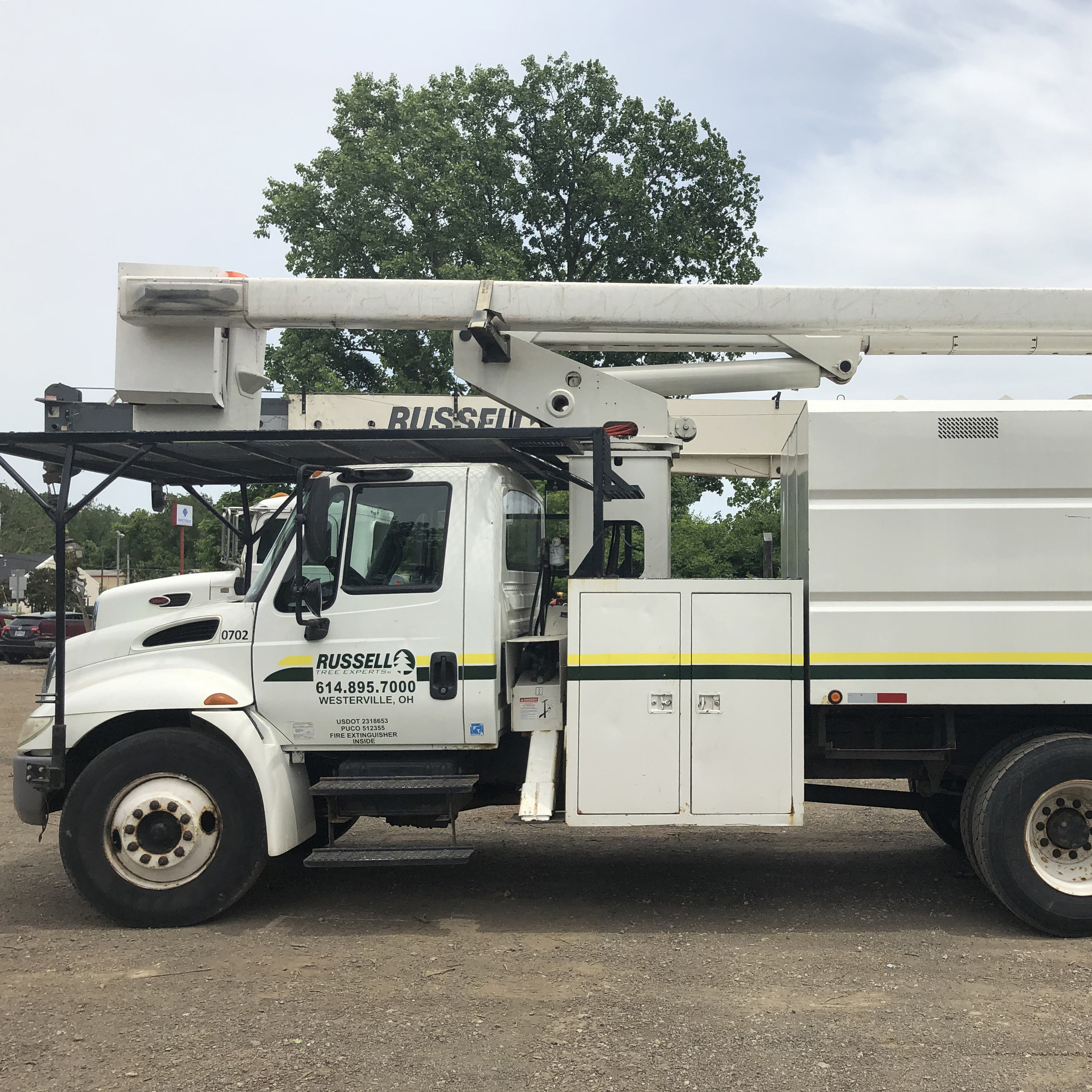 - First bucket truck is purchased