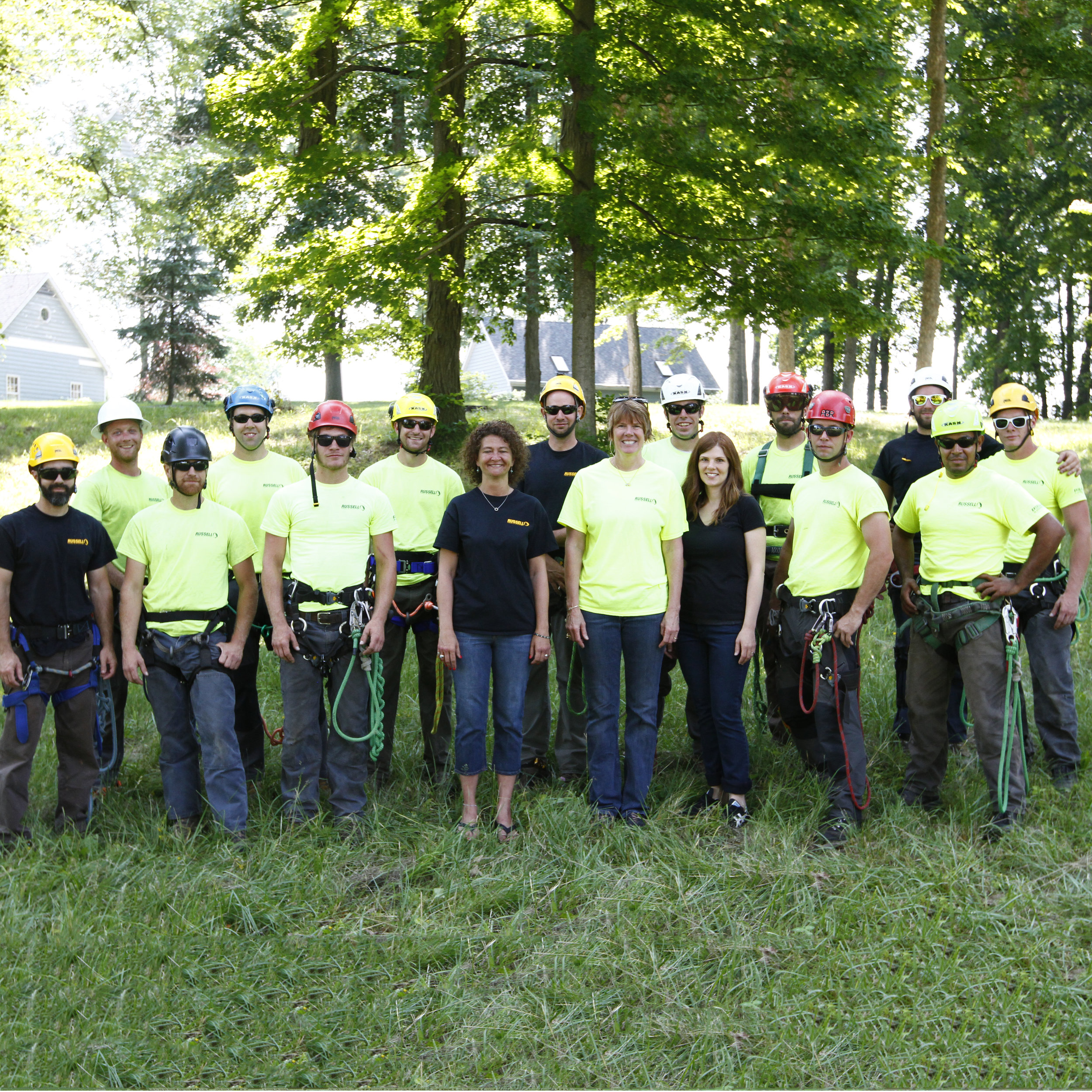 - Our staff reaches 16 employees with eight ISA Certified Arborists