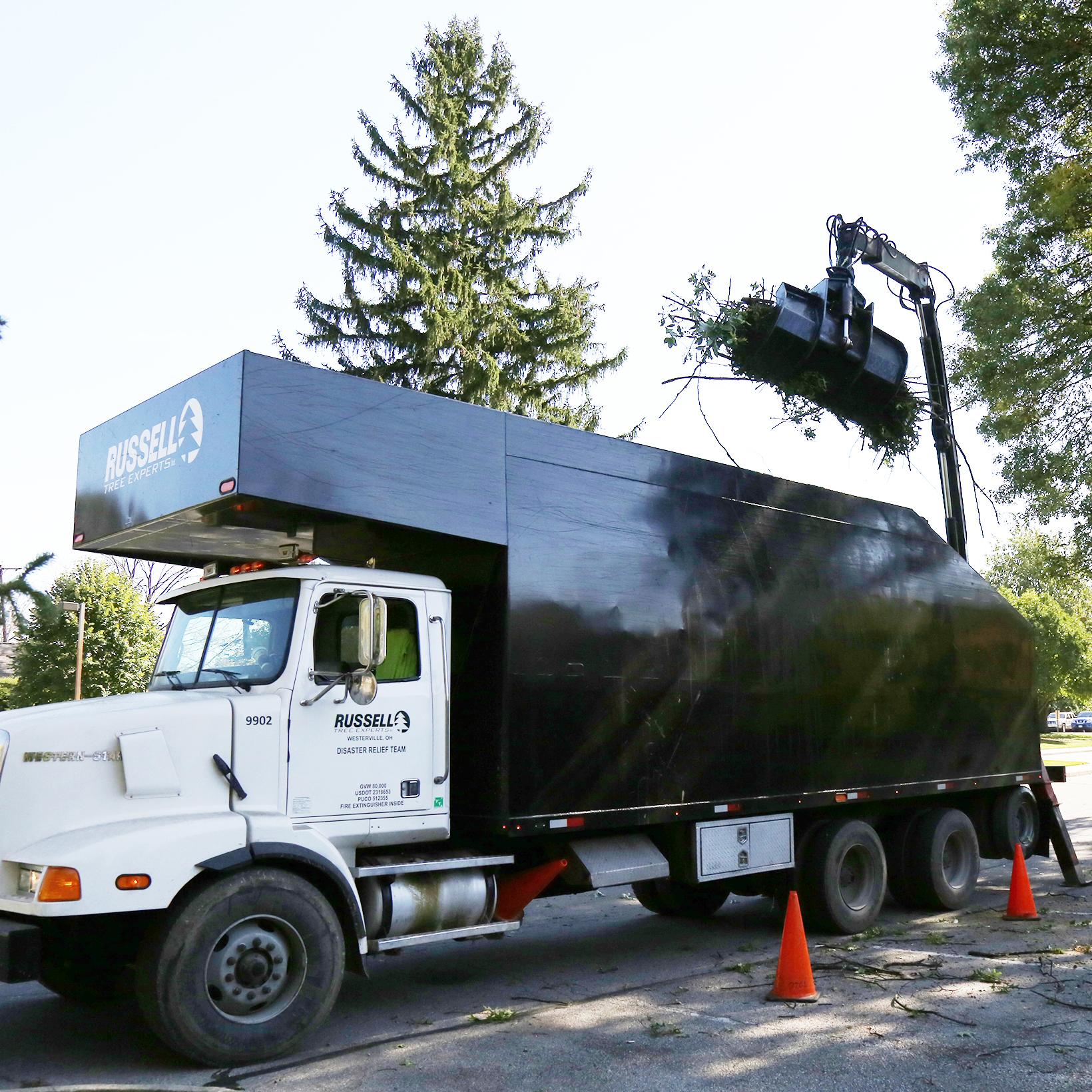 - First grapple truck joins the fleet