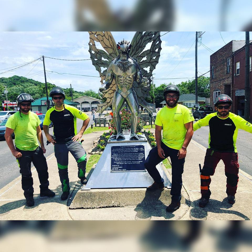 - Street tree pruning crew is deployed to Point Pleasant, West Virginia