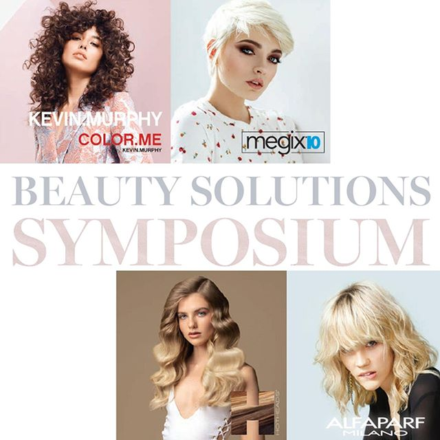 Join us for the #education event of the year, Beauty Solutions SYMPOSIUM! With a full day of classes from @love_kevin_murphy, @megix10, @hotheadshairextensions and @alfaparfusa. #monday, May 20th 10am-5pm in #SanJose. Ask your sales consultant to reserve your ticket! ⠀ *⠀ *⠀ *⠀ #kevinmurphy #colormebykm #alfaparfusa #hotheadshairextensions #megix10 #beautysolutions #norcal #haircolor #coloredhair #haircolorclass #haircoloreducation #hairarrange #hairstylistlife #hairstylists #hairdresser #hairdressermagic #Hairenvy #hairdesign #haircolorclass #haircolorist #haicolorspecialist #hairartist #hairhighlights #hairstyling #hairextensions