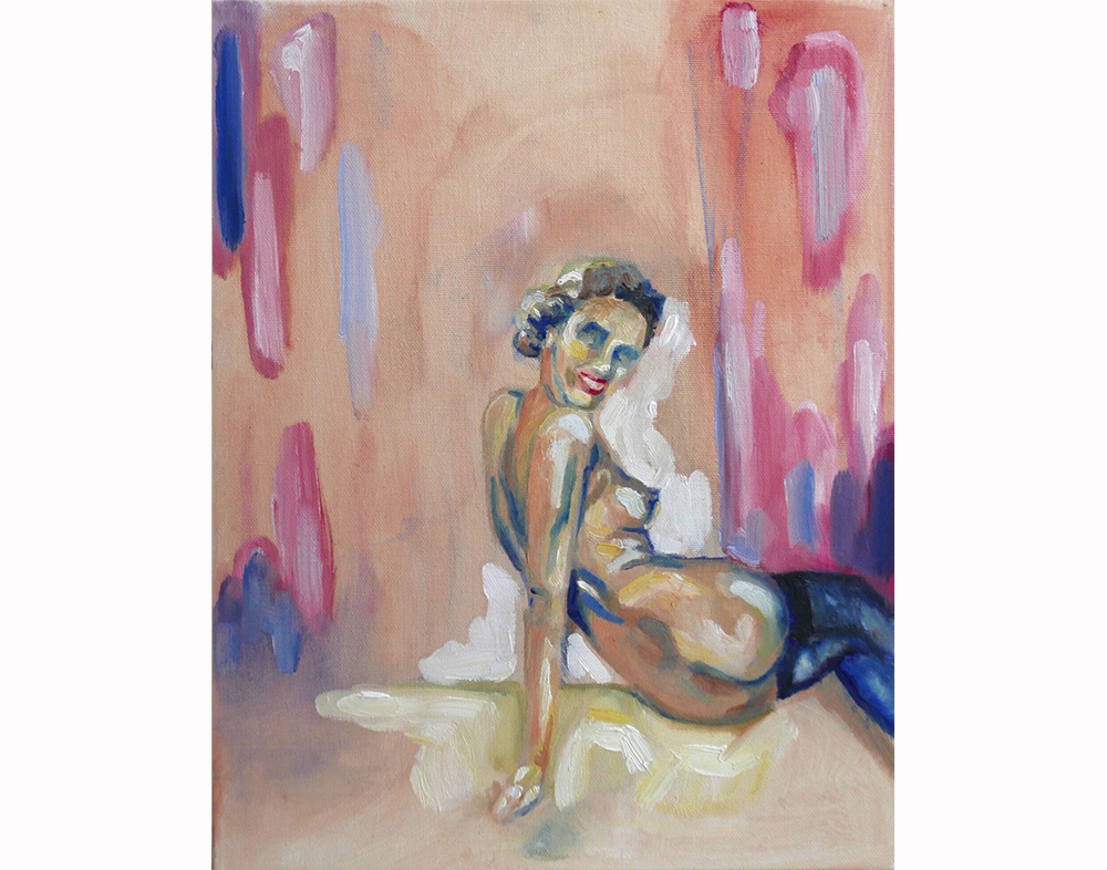 'Pin-up' 14x11 in