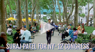 Suraj Patel for Congress NY-12: New York's chance to lead our future