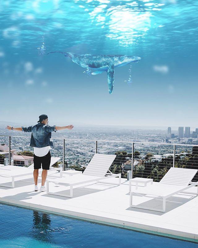 Underwater skies