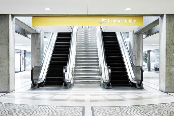 Three Embarcadero Center Escalator   /     View project >