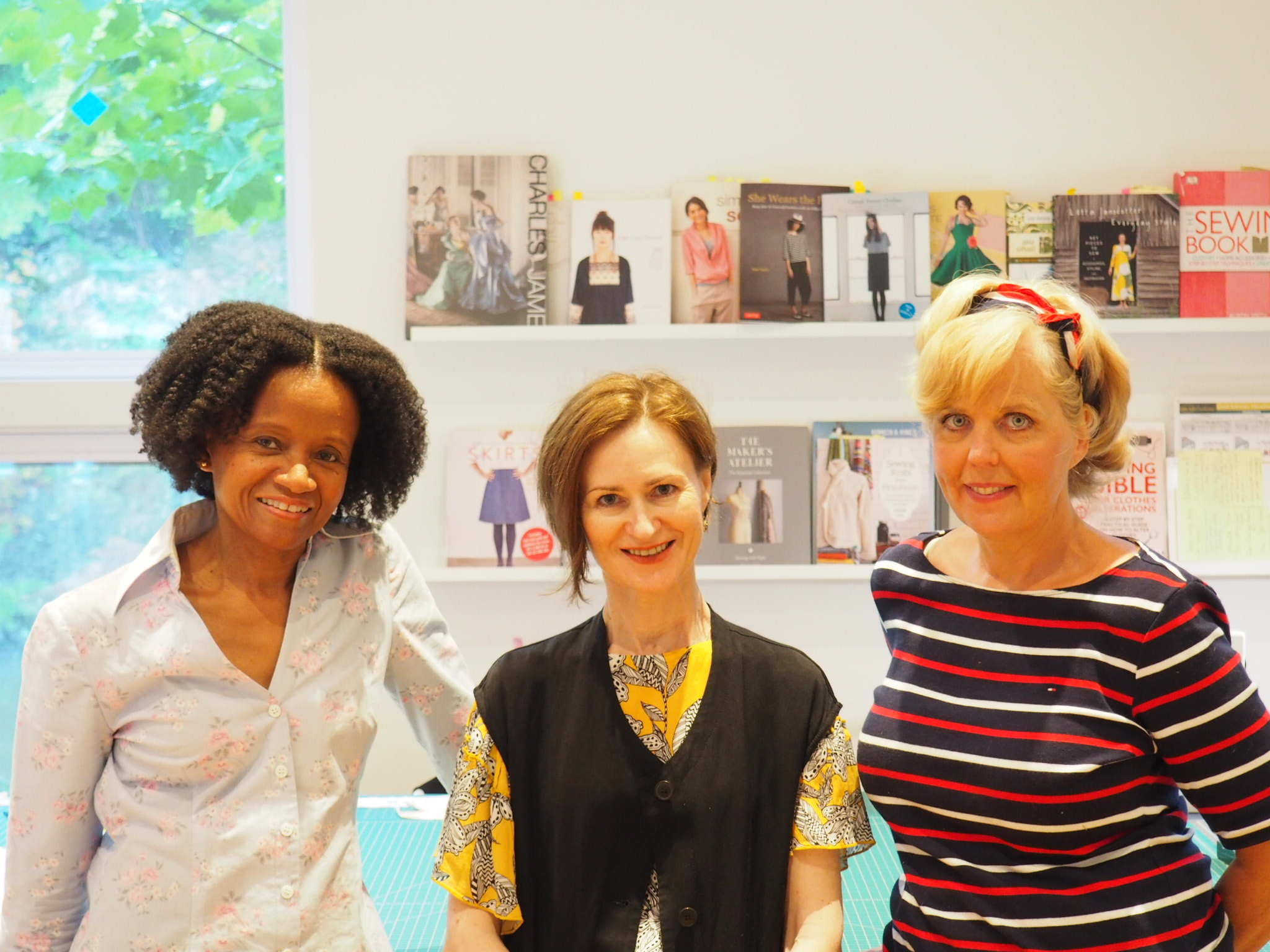 Teresa Murray, Irina Siegel, Debbie Roberts (from left to right)