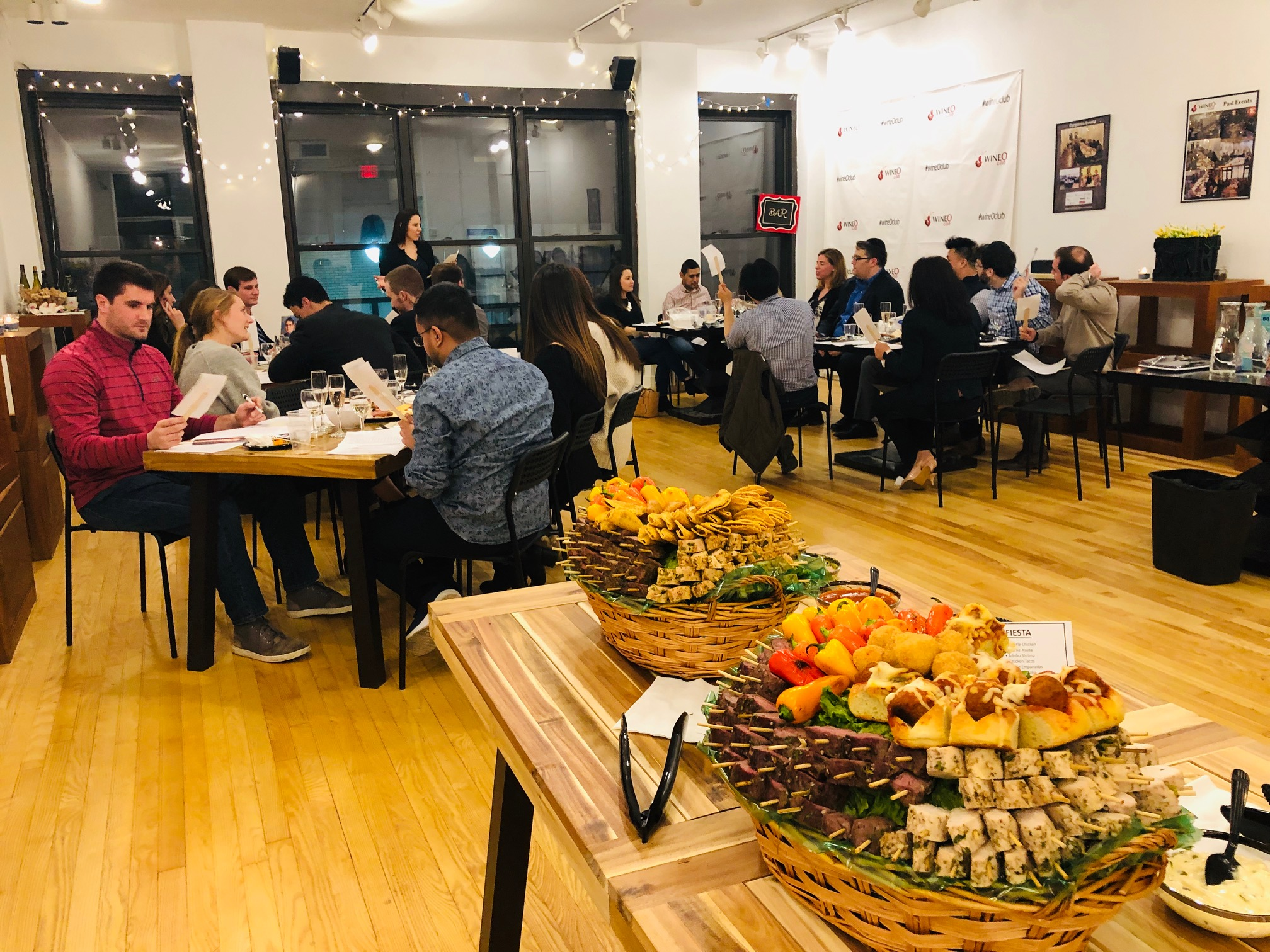 Sit Down Events - Ideal for learning in an informative setting (seated event)Cheese pairings with each winePlay interactive, educational, and fungamesLearn how to look, smell, and taste like asommelierGreat activity for team building!