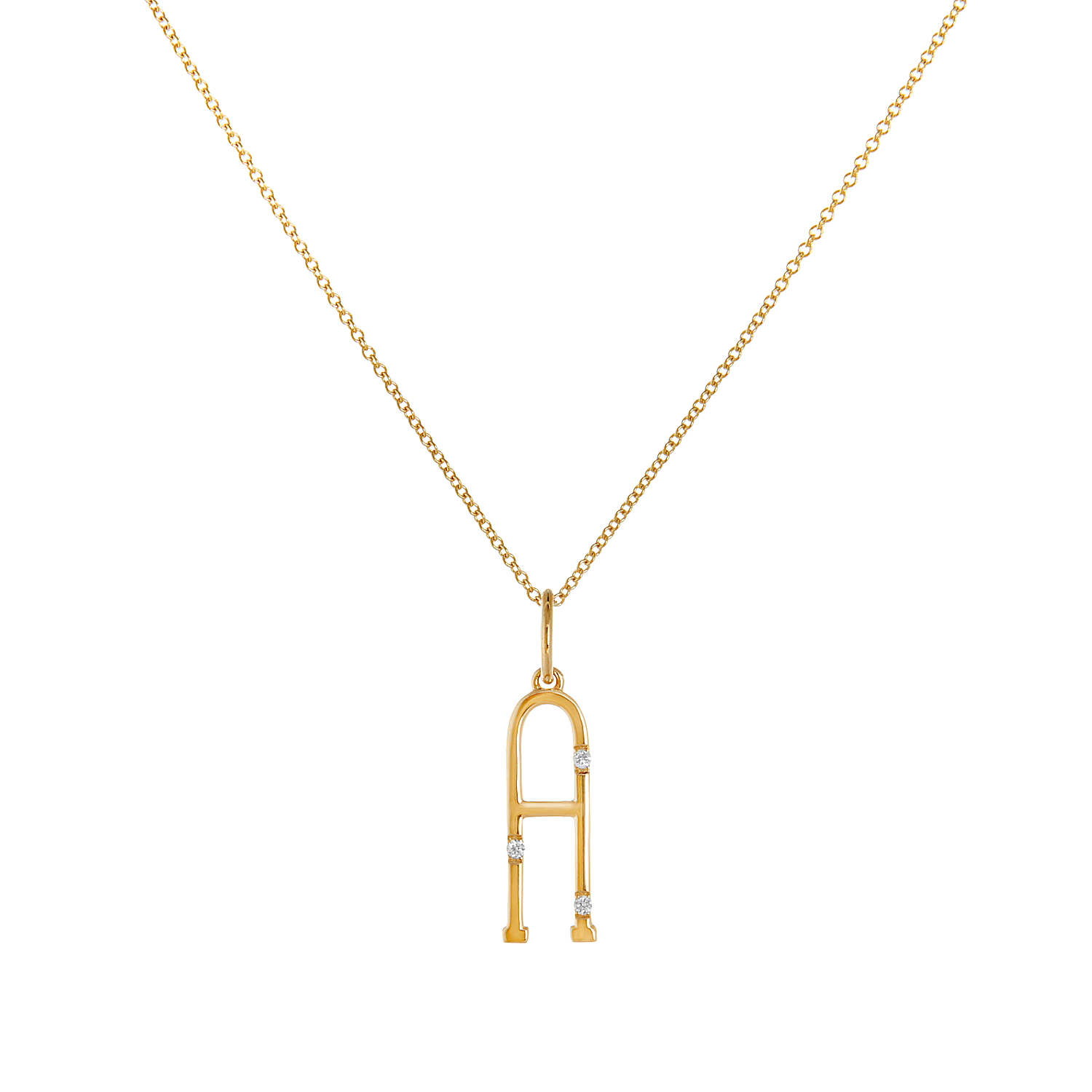 "18K Yellow Gold - ""A"""