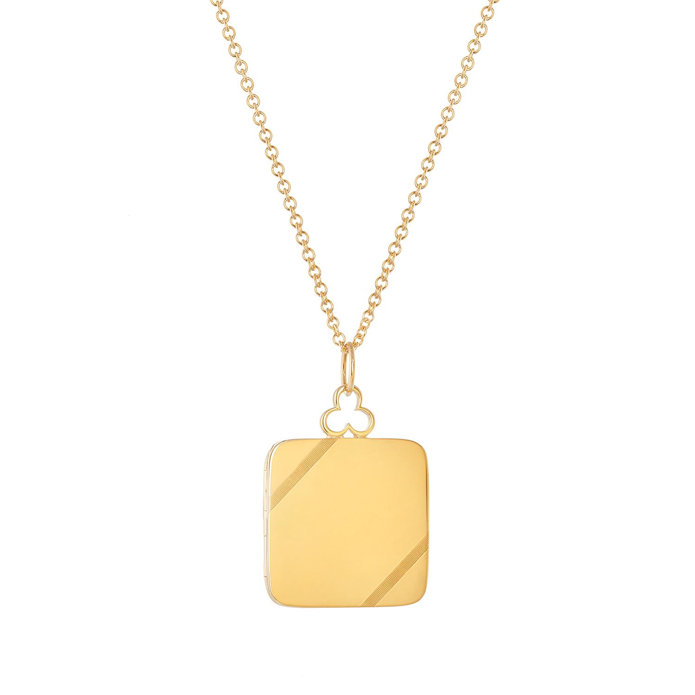 18K Yellow Gold, Large, Shiny Finish