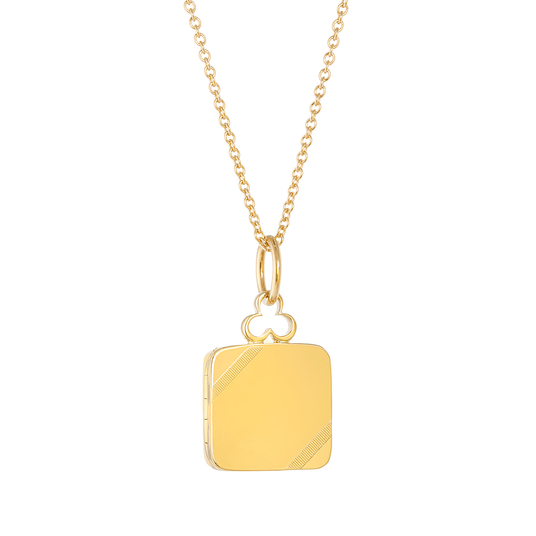 18K Yellow Gold, Small, Shiny Finish