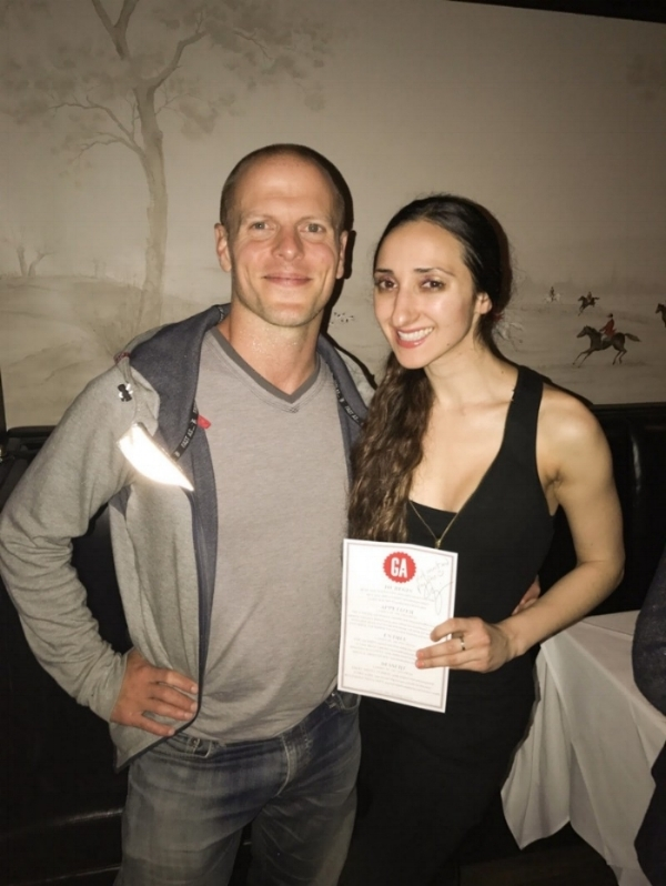 Met and had dinner with Tim Ferriss