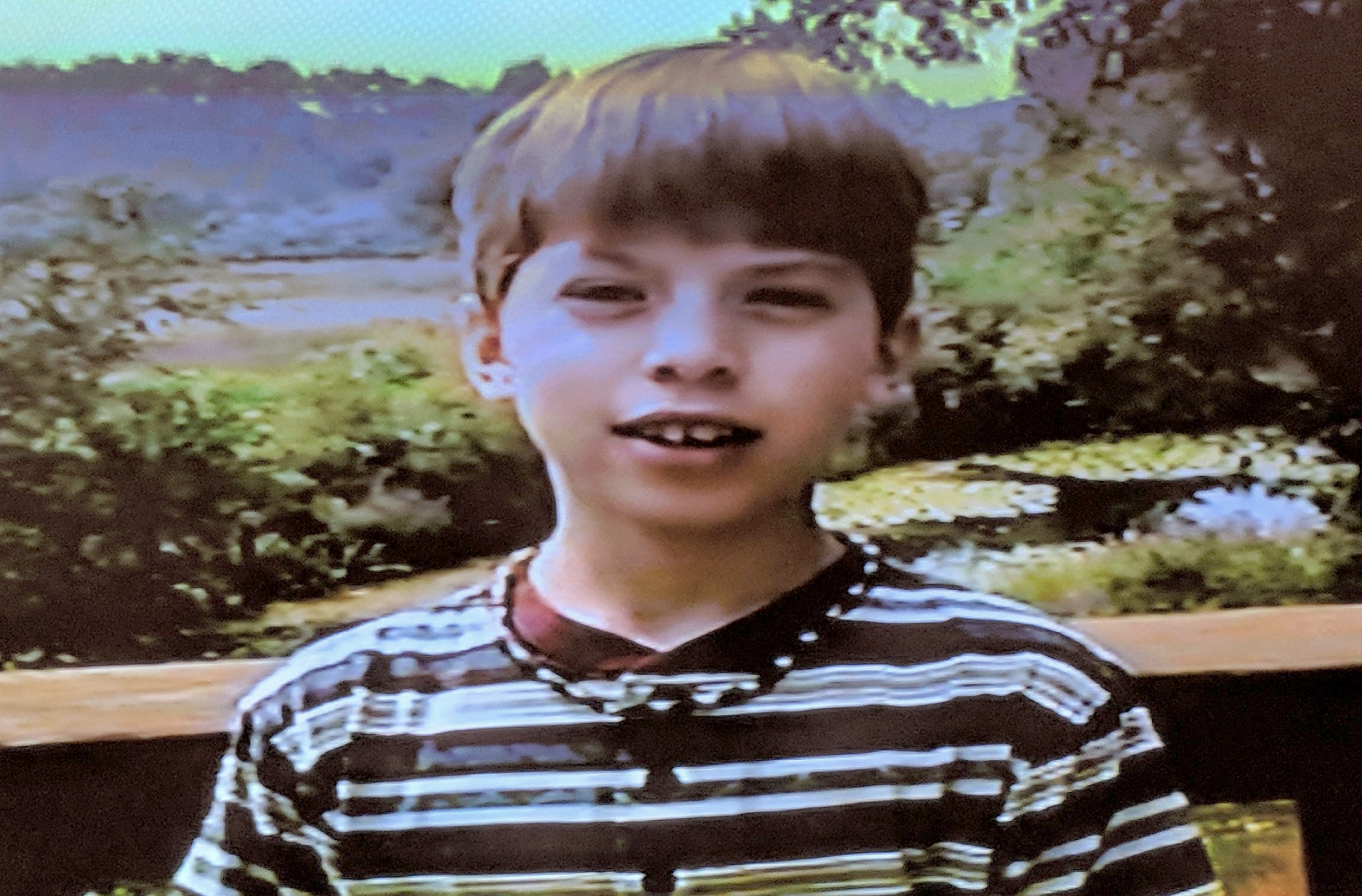"""From the """"Director's Intro"""" of my first short:a  Jurassic Park fan film, age 11"""