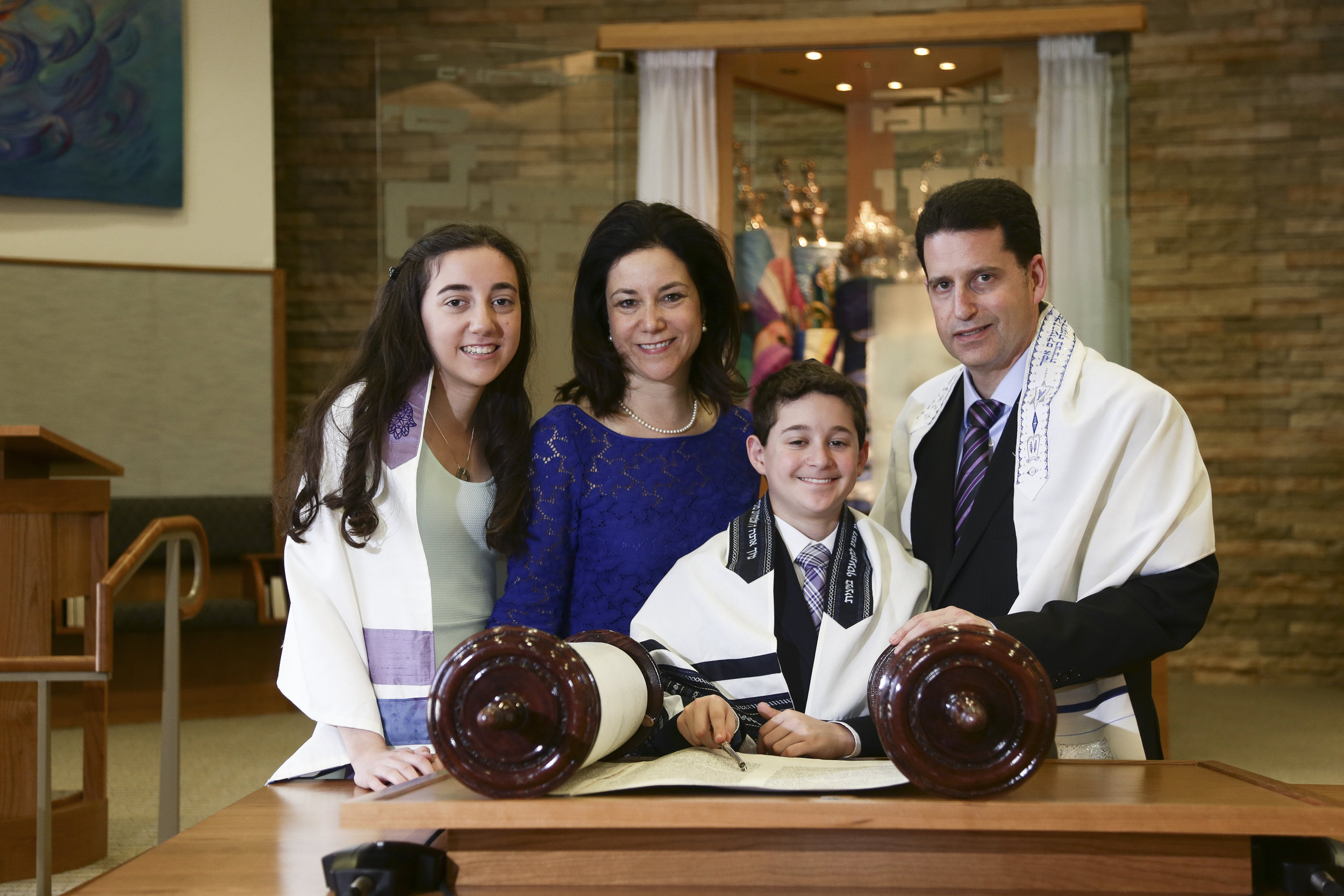 Bar and Bat Mitvahs - Congratulations on your child being called to the Torah!While getting timeless portraits with your family, we also work with your child so they are at their most comfortable in front of the camera.