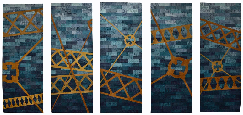Liverpool Street Salford (342cm x 154cm) £4600