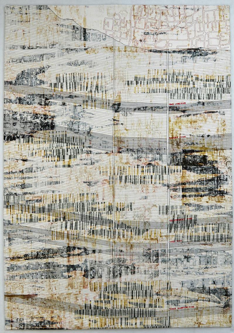What Lies Beneath (95cm x 136cm) £1250