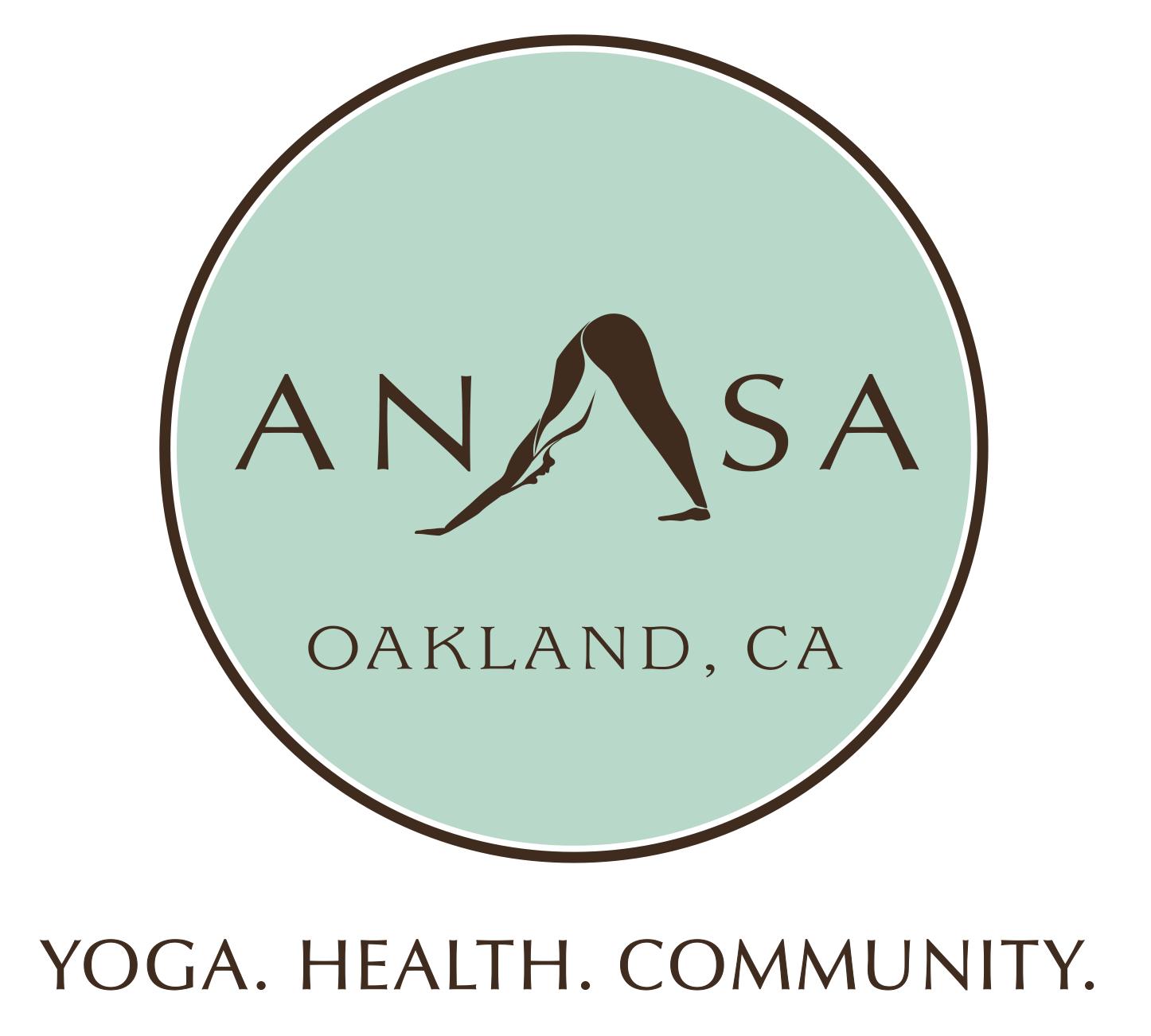 - Visit Anasa Yoga4232 MacArthur BLVDOakland, Ca 94619