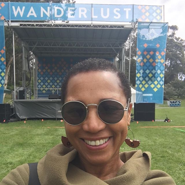 It's not sunny 🌞 like pics on the website, but the vibe is all warm. 😌The sun is trying its best to breakthrough😂 I'm presenting at 3:30 🧘🏾♀️ Ahimsa in Chataranga Dandasana #wanderlust  #anasayoga #wanderlustsanfrancisco #yoga #yogainspiration