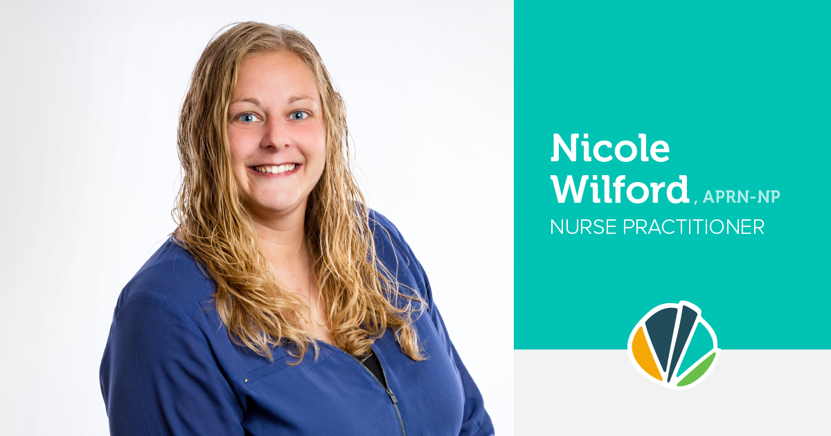 Main image for blog titled Meet Nicole Wilford, Nurse Practitioner
