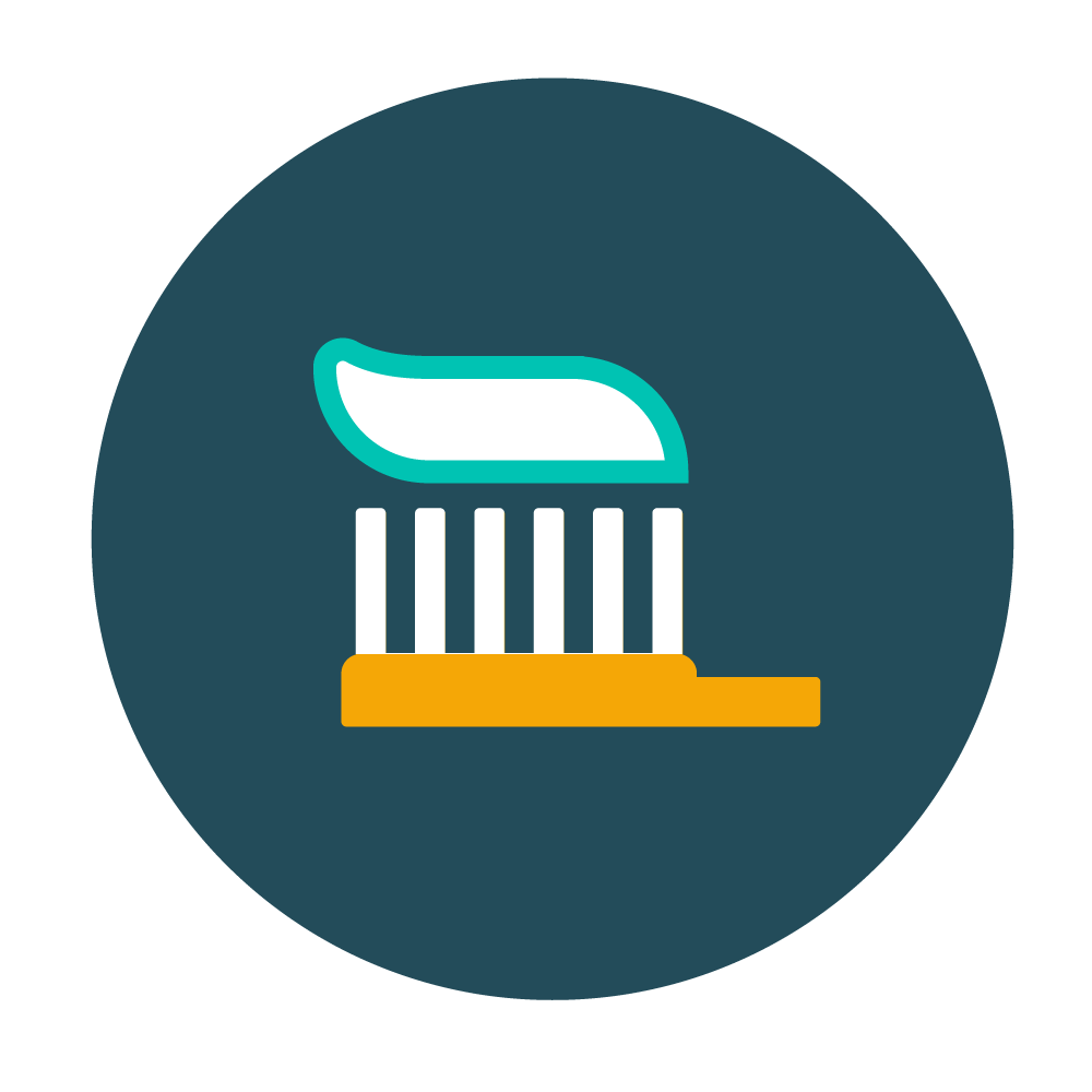 Routine Cleaning - To maintain healthy teeth and gums, we recommend routine cleaning to remove built-up plaque and tartar that can cause gum disease, cavities, bad breath, and other related health issues.