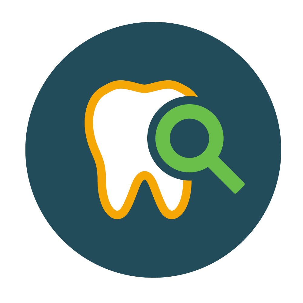 Full Dental Examination - Our dentists will perform a thorough examination of your teeth, gums and mouth, looking for signs of disease or other problems.