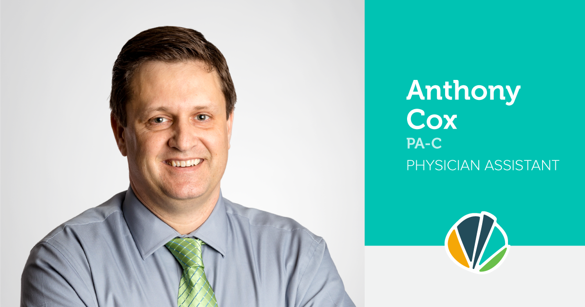 Main image of blog titled Meet Anthony Cox, Physician Assistant