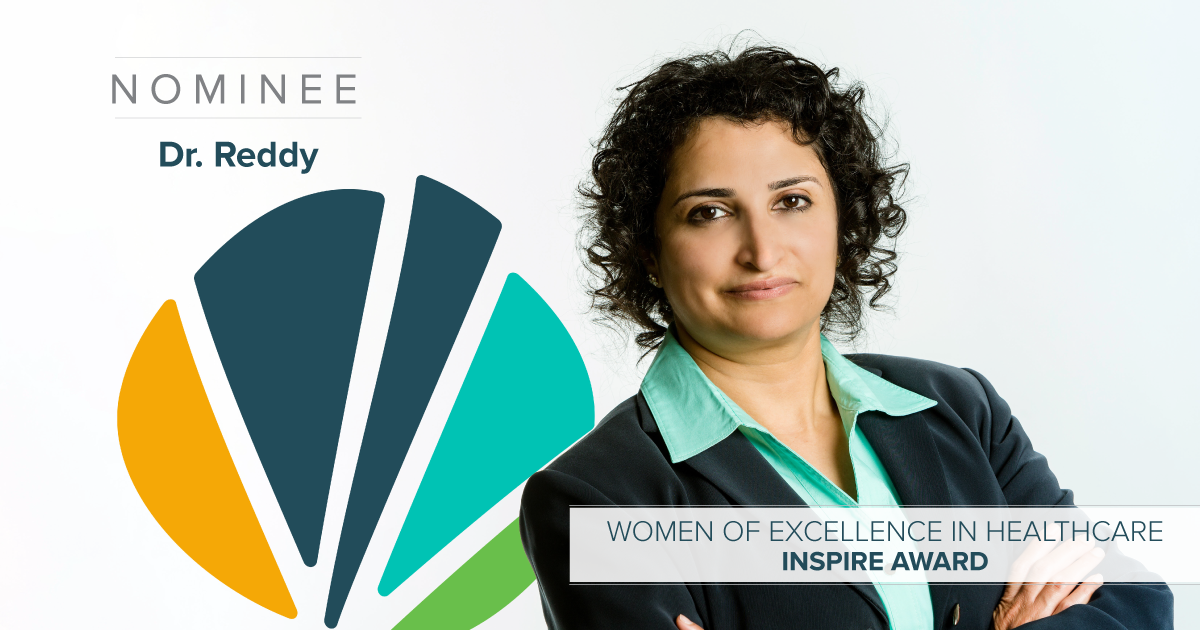Women of Excellence in Healthcare Inspire Award