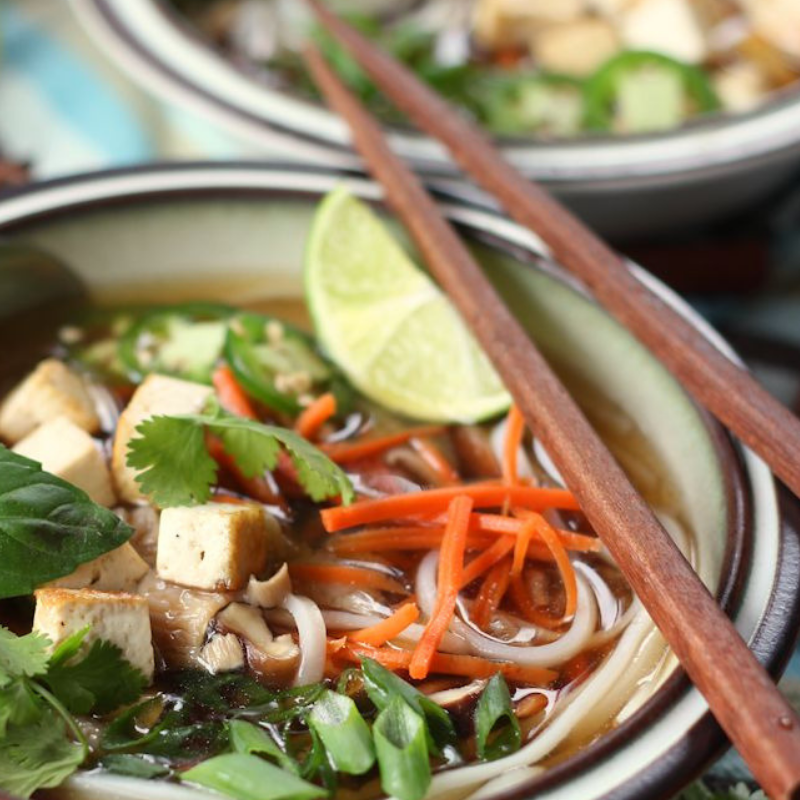 Pho broth is infamous for its aromatic, almost Christmas-y flavor profile.