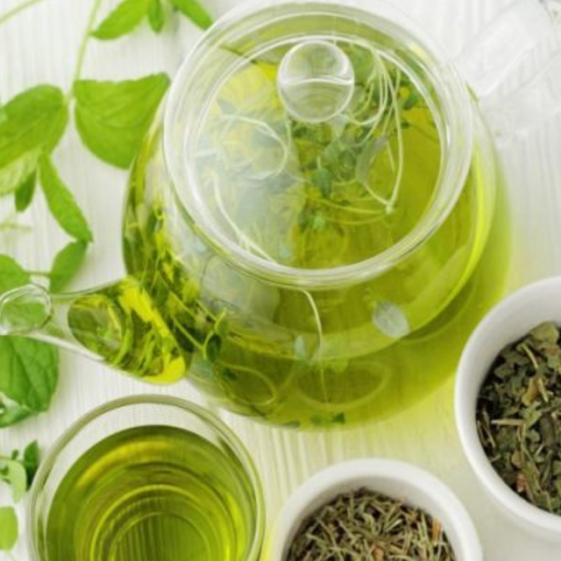 Green tea has been linked to heart health, improved brain function, and weight loss.