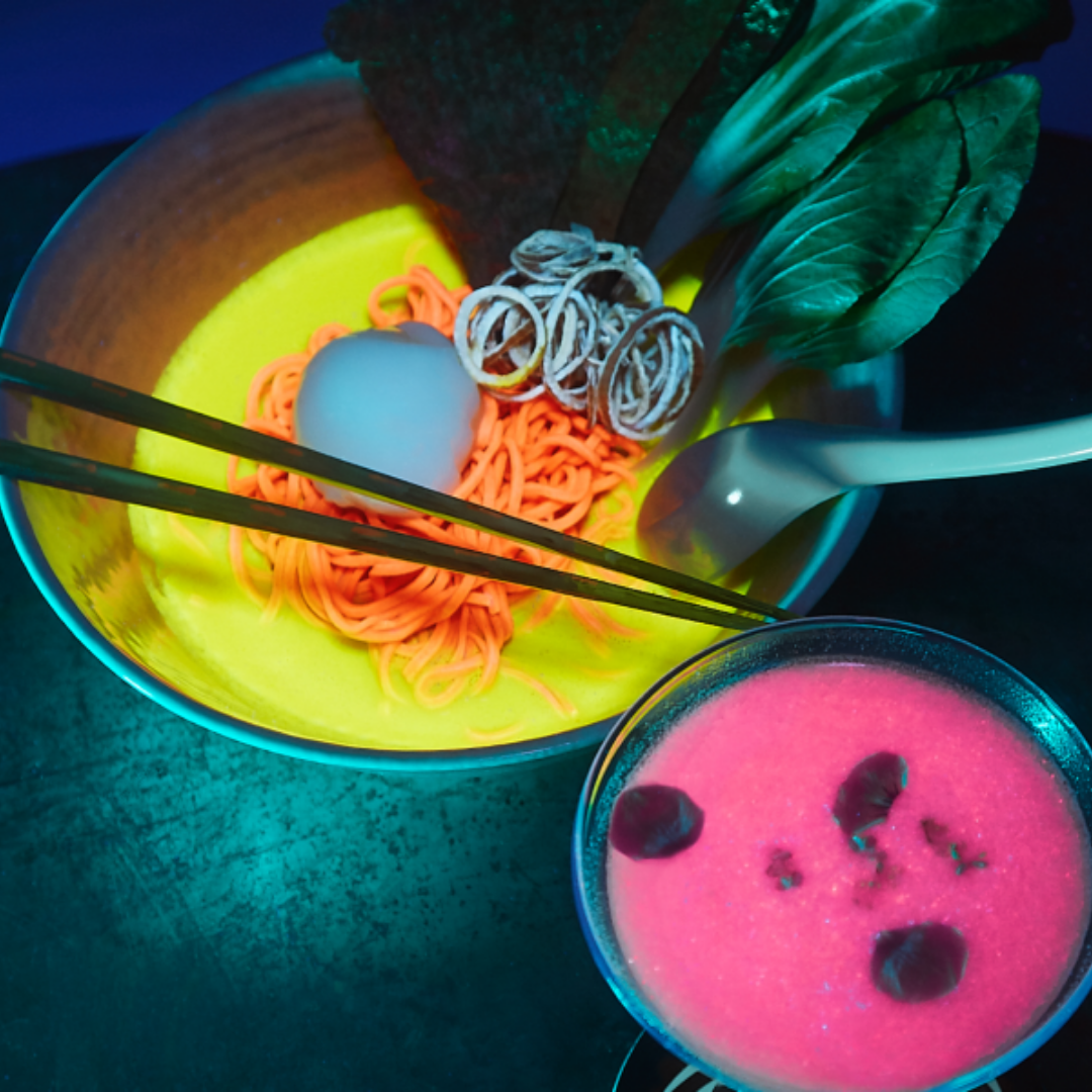 Glow-in-the-dark ramen pop-ups have enchanted diners in cities across the nation this year.