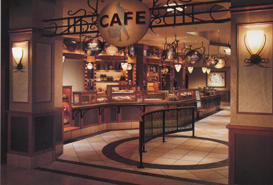 Nordstrom Cafe 1997